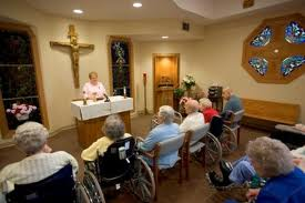 Nursing home worship - Institutional Care Ministries